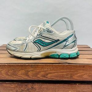 Saucony Jazz 14 Running Sneakers Womens 7.5 White